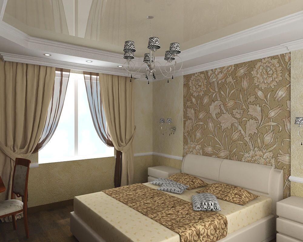 Дизайн угловая комната с двумя окнами в хрущевке дизайн